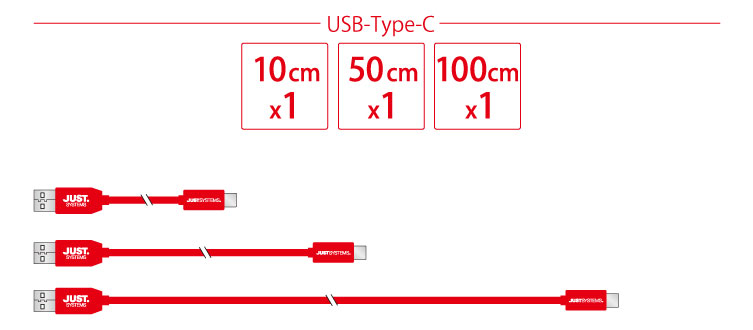 第3弾 USB Type-A to Type-Cケーブル&USB Type-A to microUSBケーブル IPT-6SETMB/TC3-JUST アイティプロテック