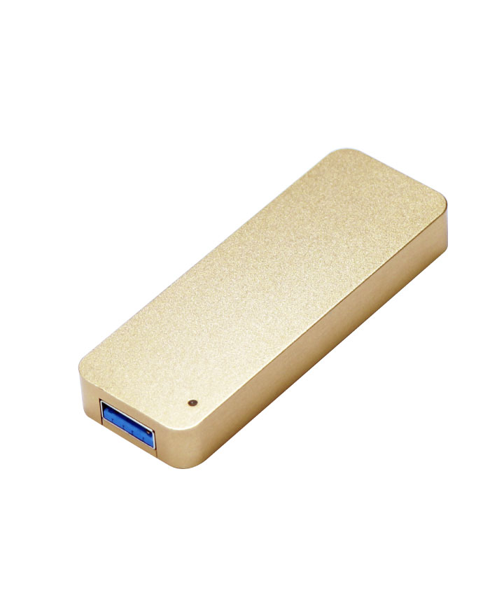 ITPROTECH USB3.2 Gen2対応 外付けスティックSSD 1TB/256GB JUST Gold Edition M2USBF1000-JUST2/GO / M2USBF256-JUST2/GO アイティプロテック